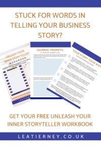 Unleash your storyteller free workbook graphic