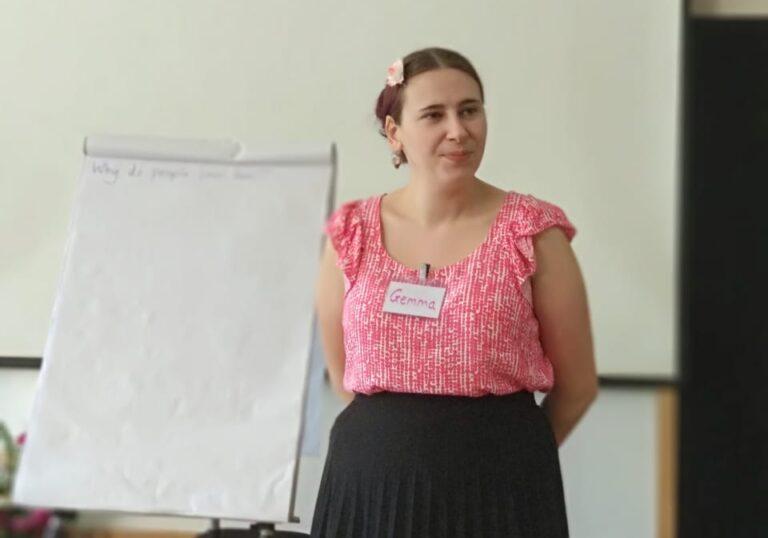 The SLI Founder, Gemma Perkins